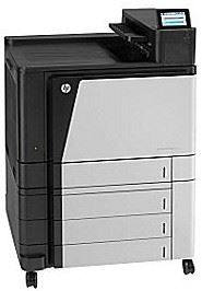 Picture of an HP M855 laser printer