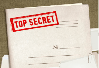 Picture of James Wand's Top Secret file